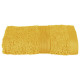450gsm ocher towel 30x50, yellow