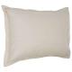 funda de almohada de lino 50x70, beige