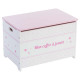 pink, pink toy chest