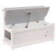 mixed toy chest bench, gray