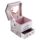 ballerina musical box, multicolored