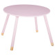 pink sweetness table d.60 cm, pink