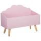cofre de nubes rosado y rosado