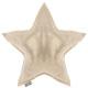 Pillow star gold 46 x 46, gold
