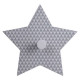 patere stars, 4- times assorted , assorted colors