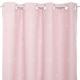 cortina opaca corte resplandor 140x250, rosa