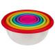 ronde doos x6 kleuren, maal geassorteerd , veelkle
