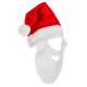 adult hat Santa Claus + beard