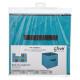 storage box 31x31 turquoise eg, blue