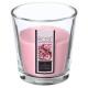świeca zapachowa vr rose nina 90g, różowa