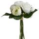 boeket witte bloemen h30, geassorteerde kleuren