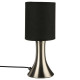 touch metal lamp h28, 4 times assorted , colors as