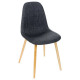 gray chair p beech nokas, dark gray