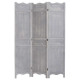 wooden screen 170 x 120, gray