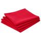 toalla tabla ctn rojo x4, rojo