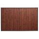 estera de bambú latte l choc50x80, marrón