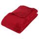 rood microfiber ruitje 130x180, rood
