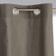 Panama gf cortina 135x240 x2, gris oscuro