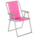 folding chair grecia raspberry, pink
