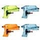 pao pistola mini x4 transparente, multicolor