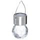 roestvrijstalen hanglamp o6cm, zilver