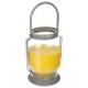 linterna vela limoncillo, amarillo