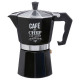 Cafetera italiana wb 6 taza, negro