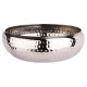 hammered stainless steel basket 24cm