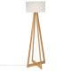 lampdr bamboo pap moki h150, blanco
