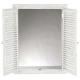 mirror white shutters 50x65, white
