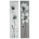bloemtent 28x118x2.5, 2 maal geassorteerd , grijs