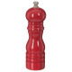 molino de pimienta de madera roja 16cm