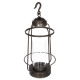 lanterne metal + verre h62.5, bronze