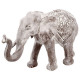 elefante blanqueado resina h20, gris
