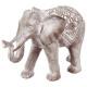 elefante blanqueado resina h30, gris
