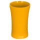 beker gele streep plastic beker