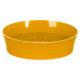 kunststof zeepbakje streep geel m
