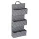 etagere 3 niveaux suspension lise gris c