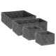square cart x4 dark gray