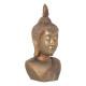 koperen boeddha hoofd h113, koper