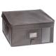storage box 30x30x15 light gray, light gray