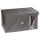 storage box 50x30x25 light gray, light gray