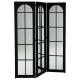 indus screen mirror + metal, black