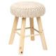 beige, beige suzette stool
