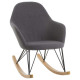 rocking chair ewan gray, gray