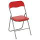 rode standaard klapstoel