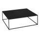 coffee table gota metal, black