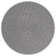 sahara flat plato gris 27cm