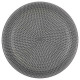 hollow sahara gray plate 20cm