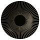 Borden holle zon zwart 19cm